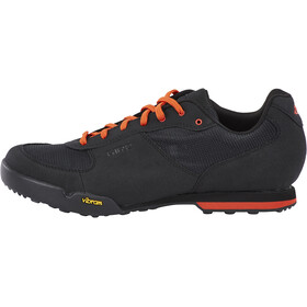 Giro Rumble VR Shoes Men black/glowing red